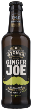 Stone's Ginger Joe Ginger Beer with a hint of Pear