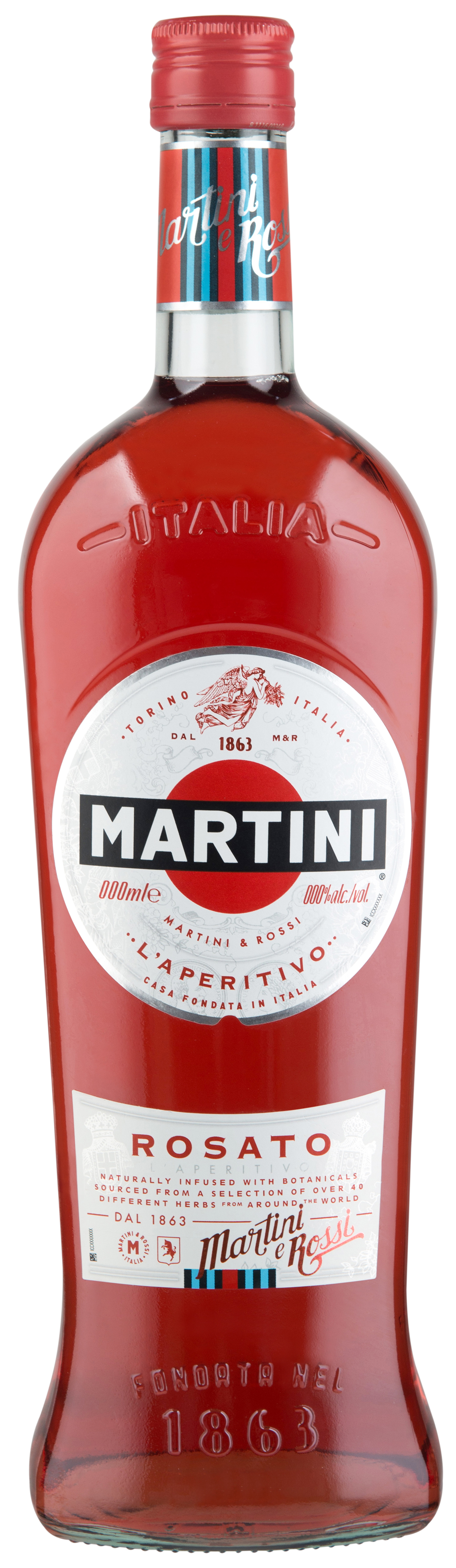Martini Rosato with what to drink