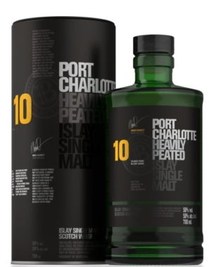 Bruichladdich Port Charlotte Scottish Barley 10YO