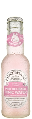 Pink Rhubarb Tonic Water