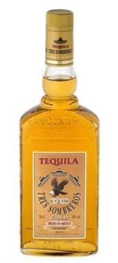 Tres Sombreros Tequila Gold